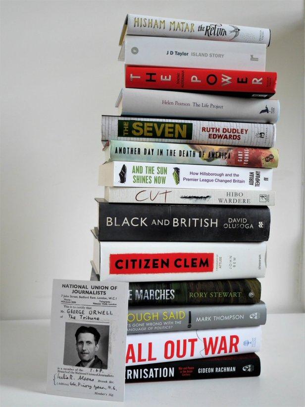 orwell prize longlist 2017