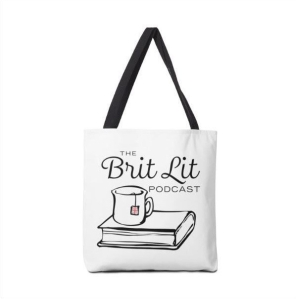 Brit lit Podcast tote