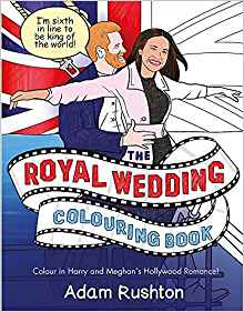 Royal Wedding Colouring Book